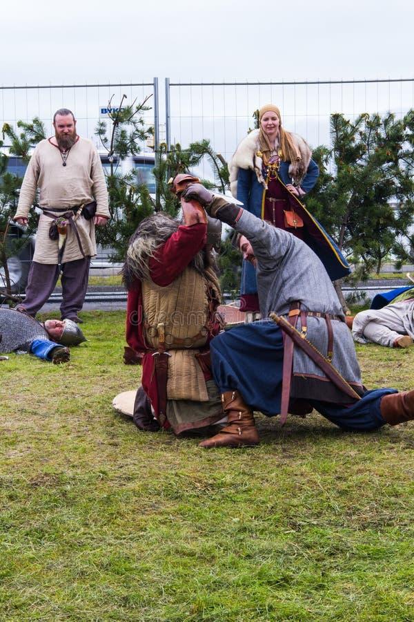 Viking Festival 2014 fotografia de stock