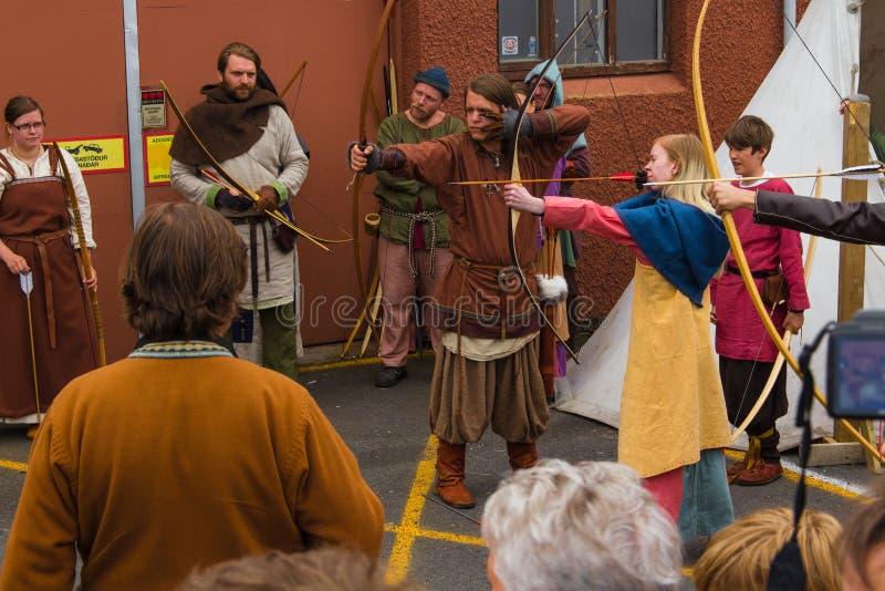 Viking festiwal 2014 zdjęcia stock