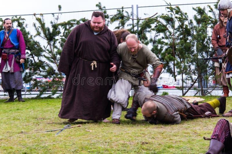 Viking festiwal 2014 fotografia stock
