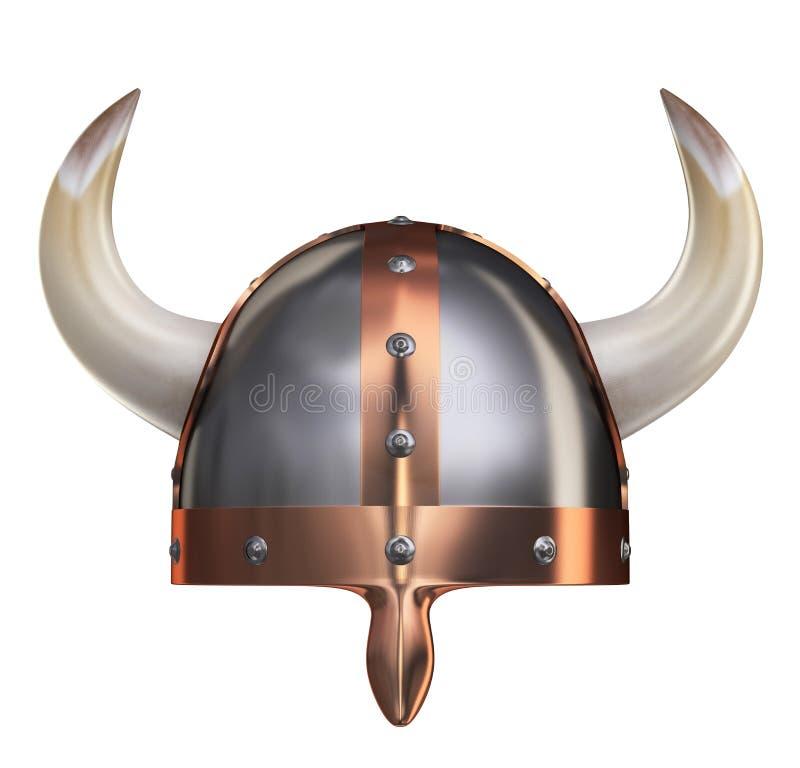 Viking Helmet II stock illustrationer