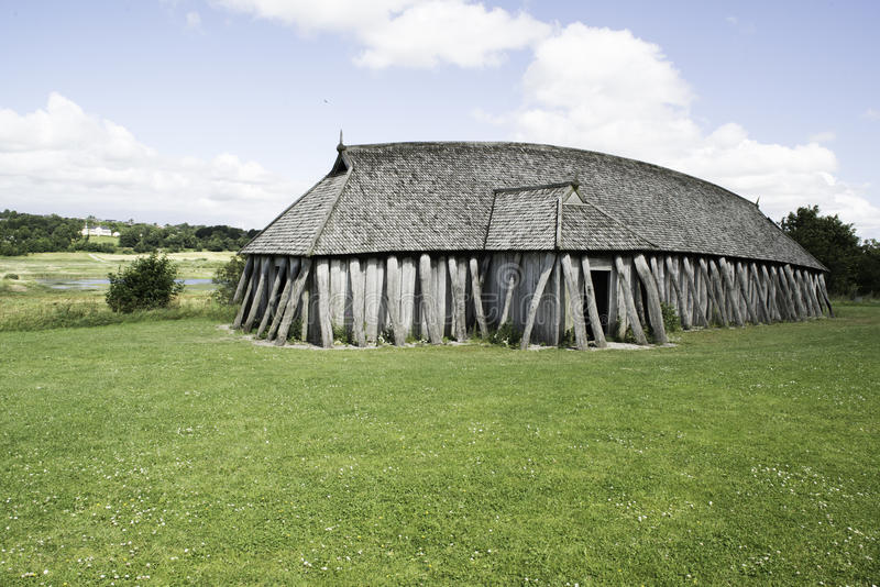 Viking House royaltyfria foton