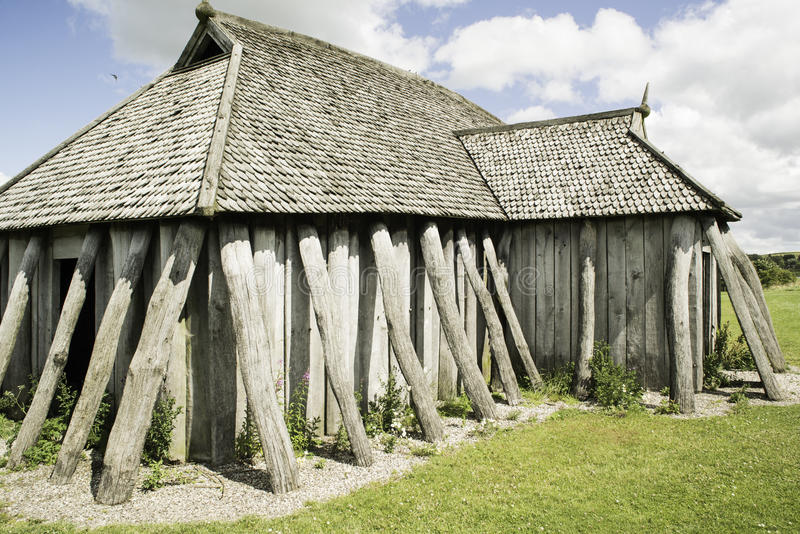 Viking House stockfoto