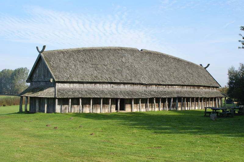 Viking House fotografie stock