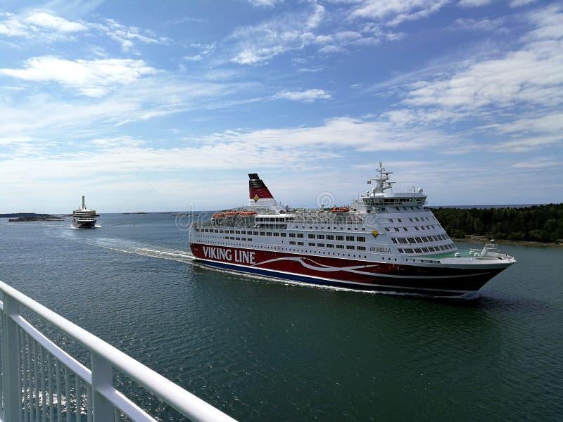 Viking Line Grace royalty-vrije stock foto's
