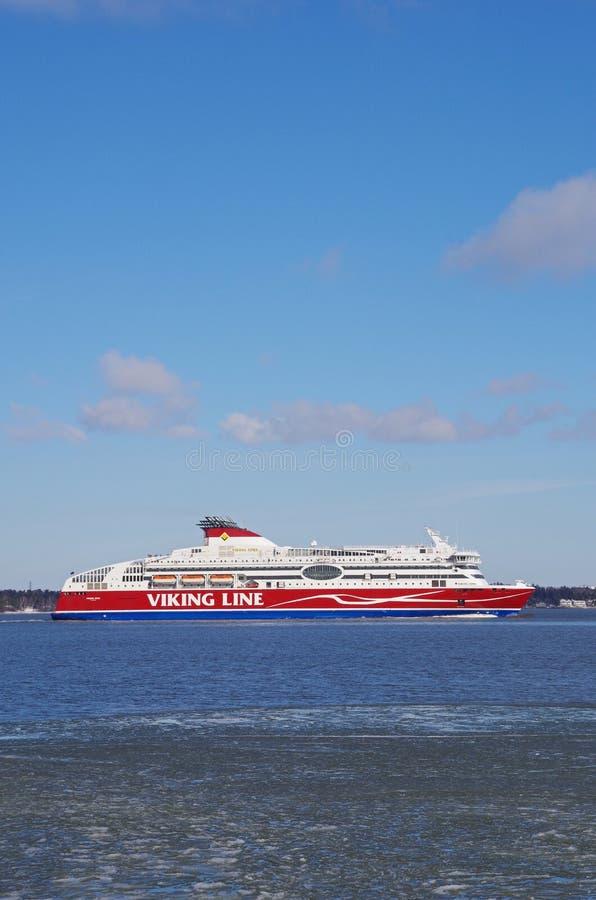 Viking linii prom Finlandia zdjęcia stock