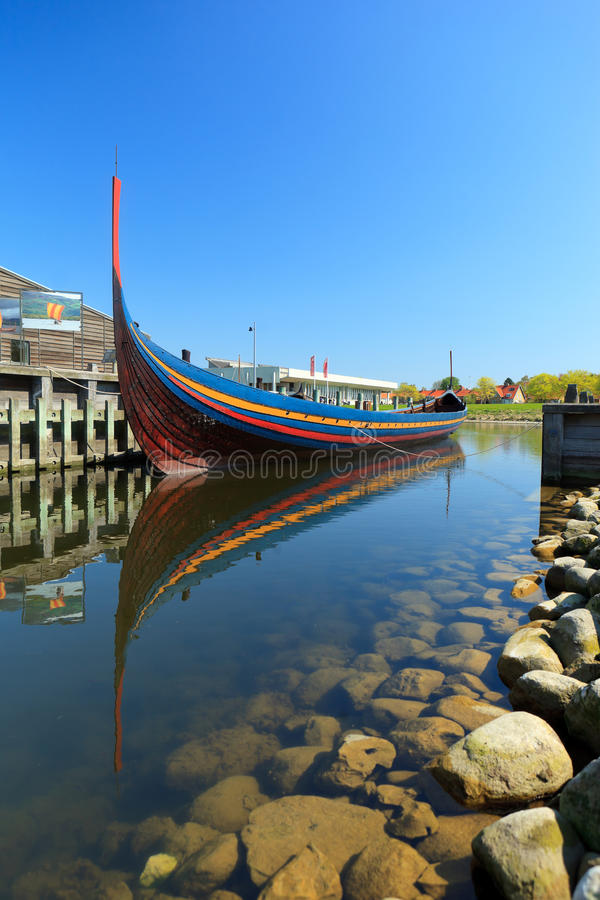 Free Viking Longboat In Roskilde Royalty Free Stock Image - 21902206