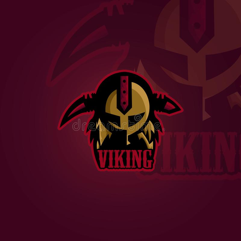Viking Mascot Vector royalty illustrazione gratis