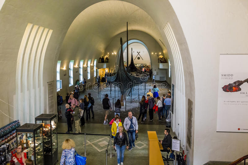 Viking Museum in Oslo stock photography