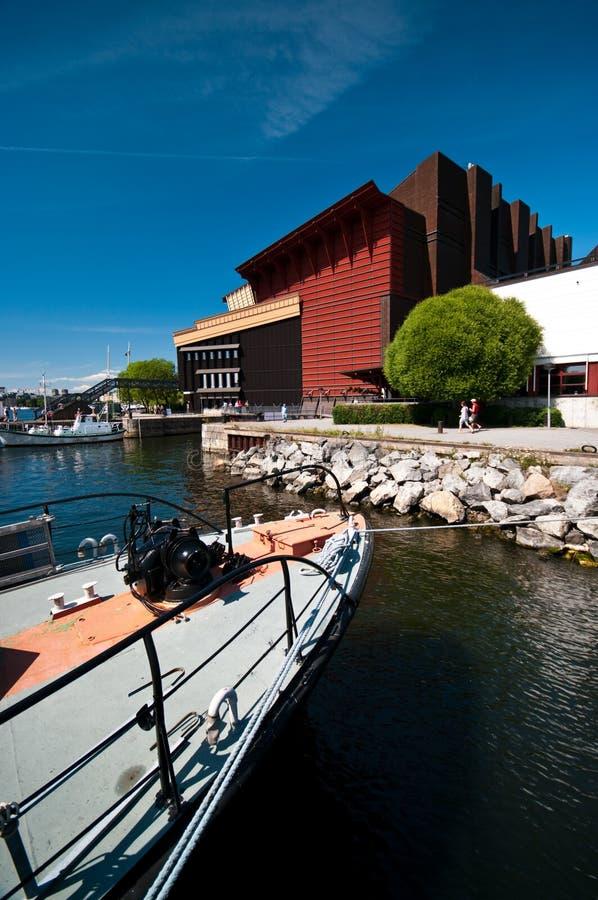Viking muzeum w Sztokholm zdjęcie royalty free