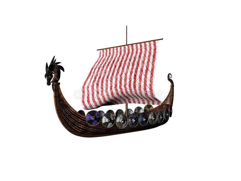 Download Viking one stock illustration. Illustration of ship, discover - 510019
