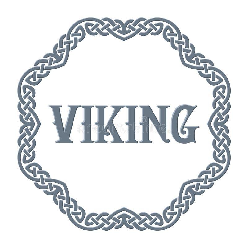 Viking Ornament. Celtic Ornament. Stock Vector Illustration stock illustration