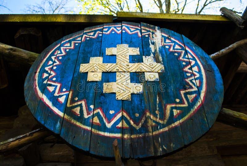 Viking osłona zdjęcia royalty free