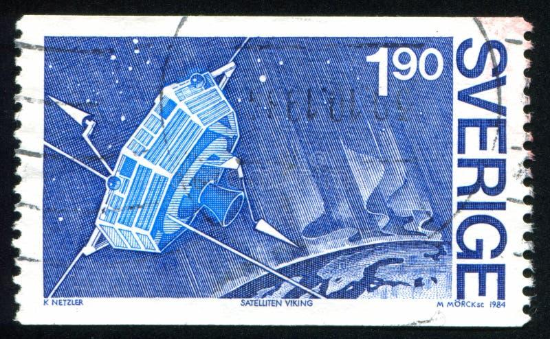 Viking Satellite royalty-vrije stock foto's