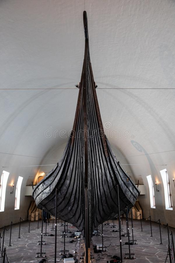 Viking Ship royaltyfria foton
