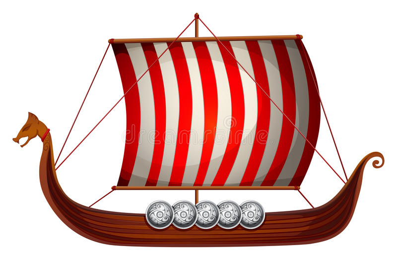 Viking Ship ilustración del vector