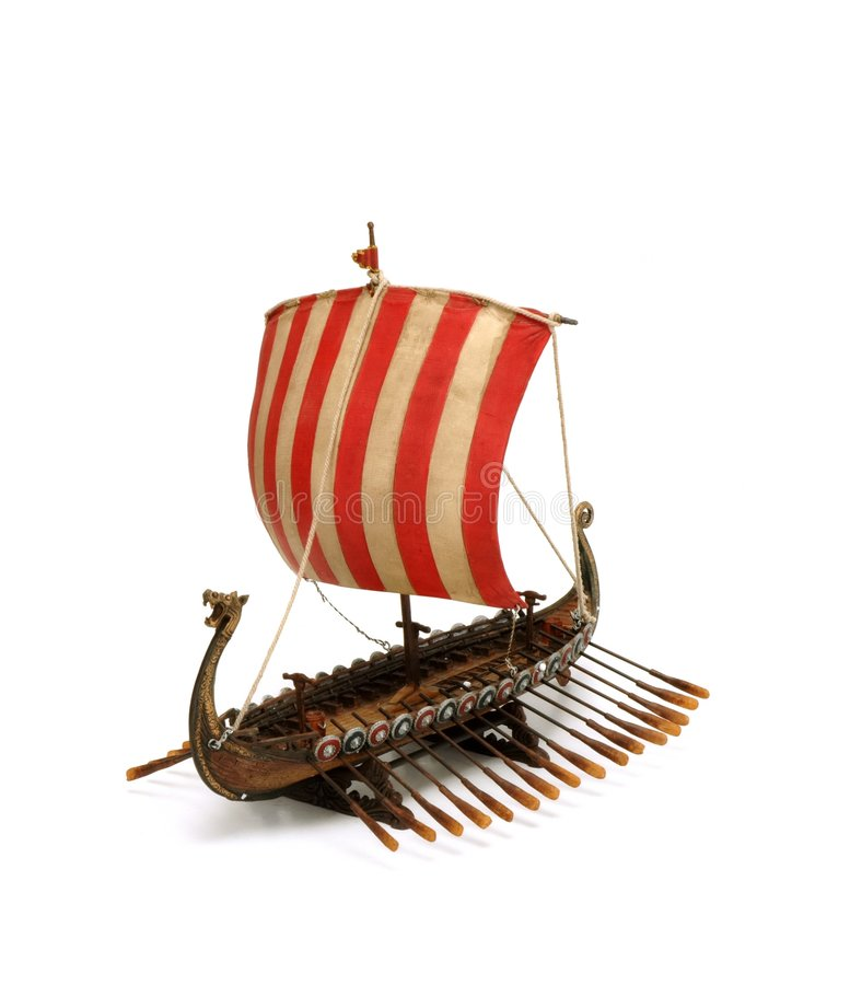 Free Viking Ship Royalty Free Stock Photo - 8569275