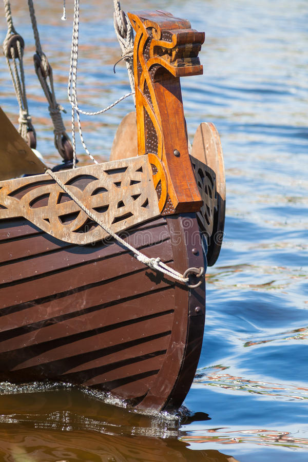 Viking Ship fotos de stock royalty free