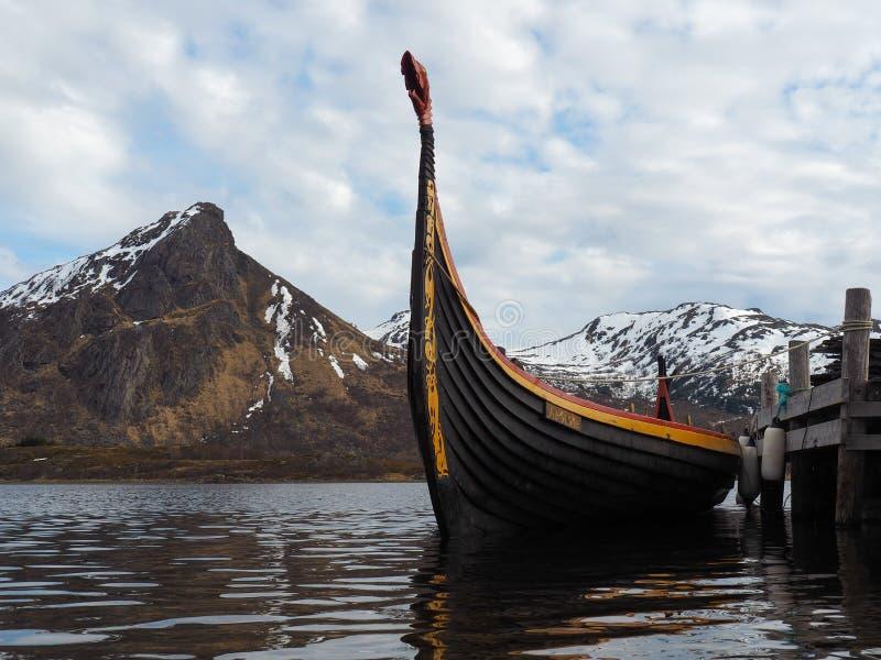 Viking Ship immagini stock libere da diritti