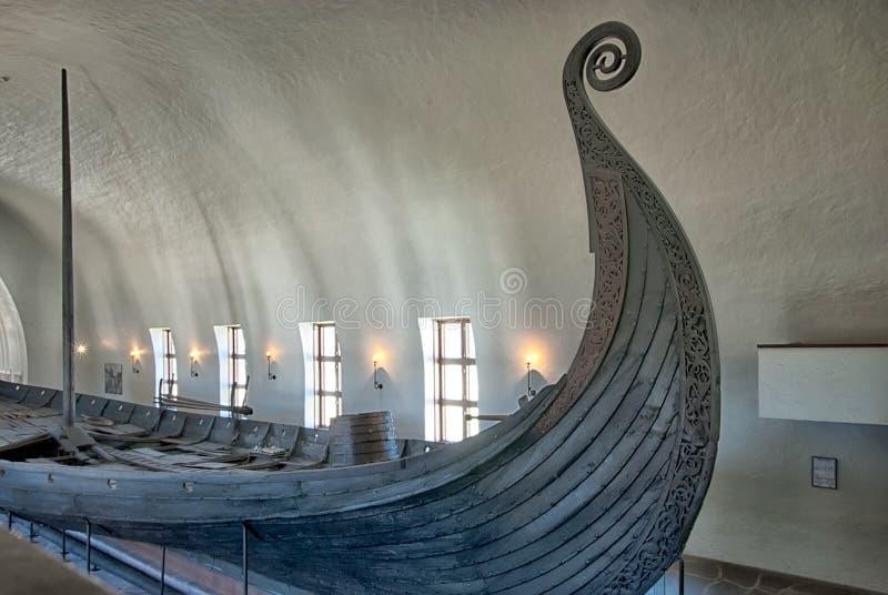 Viking Ship Museum Oslo norway royaltyfria foton