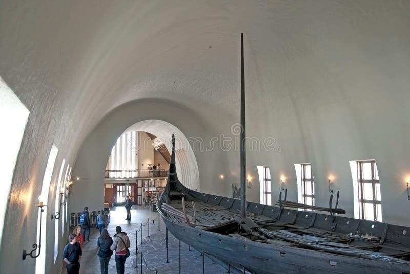 Viking Ship Museum Oslo norway arkivbild
