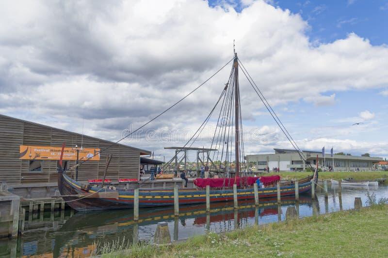Viking Ship Museum, Roskilde fotografía de archivo