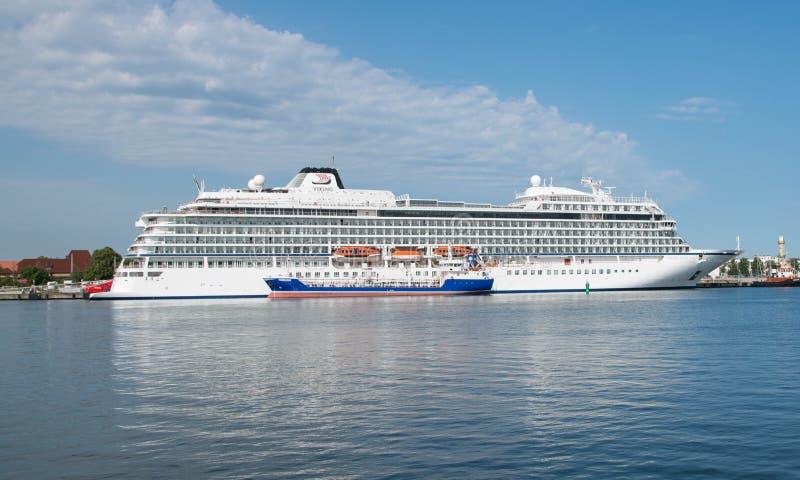 Viking Star cruise ship royalty free stock images