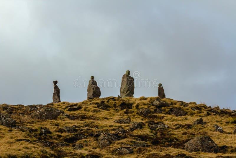 Viking Stonework imágenes de archivo libres de regalías