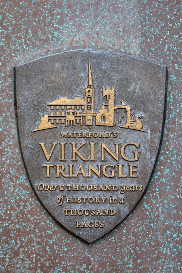 Viking Triangle en Waterford imágenes de archivo libres de regalías
