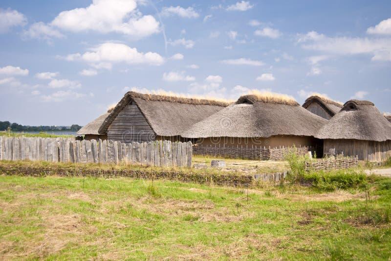 Viking Village imagen de archivo