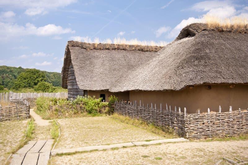 Viking Village fotos de archivo