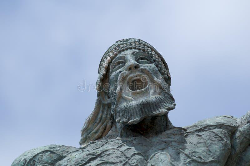 Viking Warrior imagens de stock