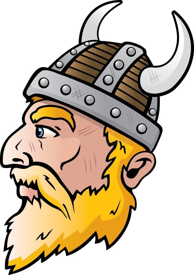Vikingo stock de ilustración