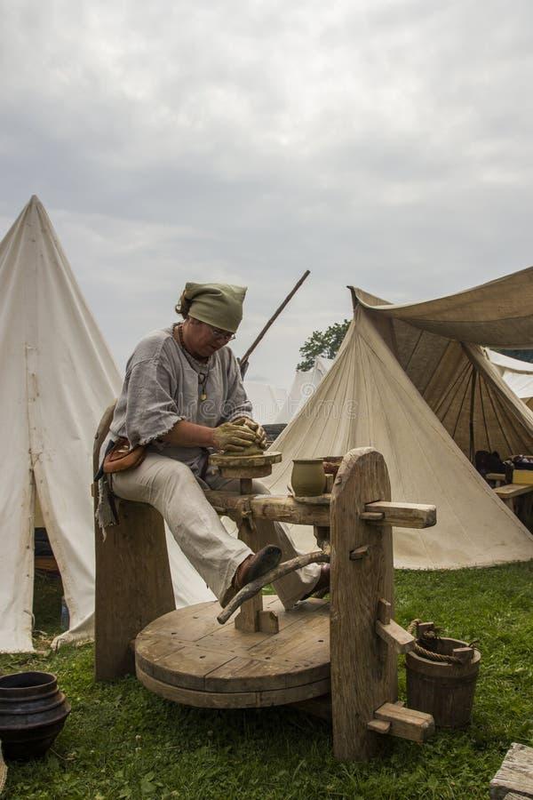Vikingos Festiwal fotos de archivo libres de regalías