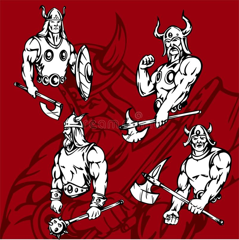 Vikings. Royalty Free Stock Photo