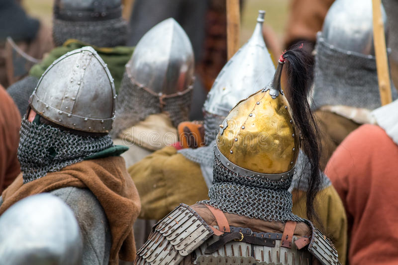 vikings royaltyfri bild