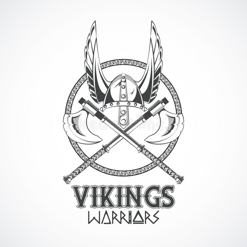 Vikings warriors printed tshirt template. Vikings warriors and medieval drawings weapons, printed Tshirt templates, clothes and fashion styles. vector stock illustration