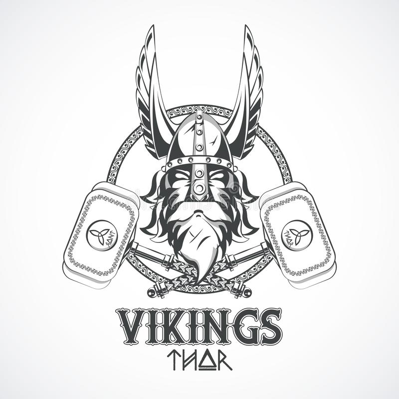 Vikings warriors printed tshirt template. Vikings warriors and medieval drawings weapons, printed Tshirt templates, clothes and fashion styles. vector vector illustration