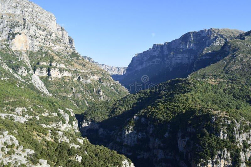 Vikos Gorge stock photos