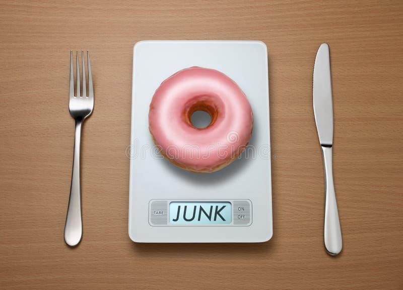 vikt för matskräpscale