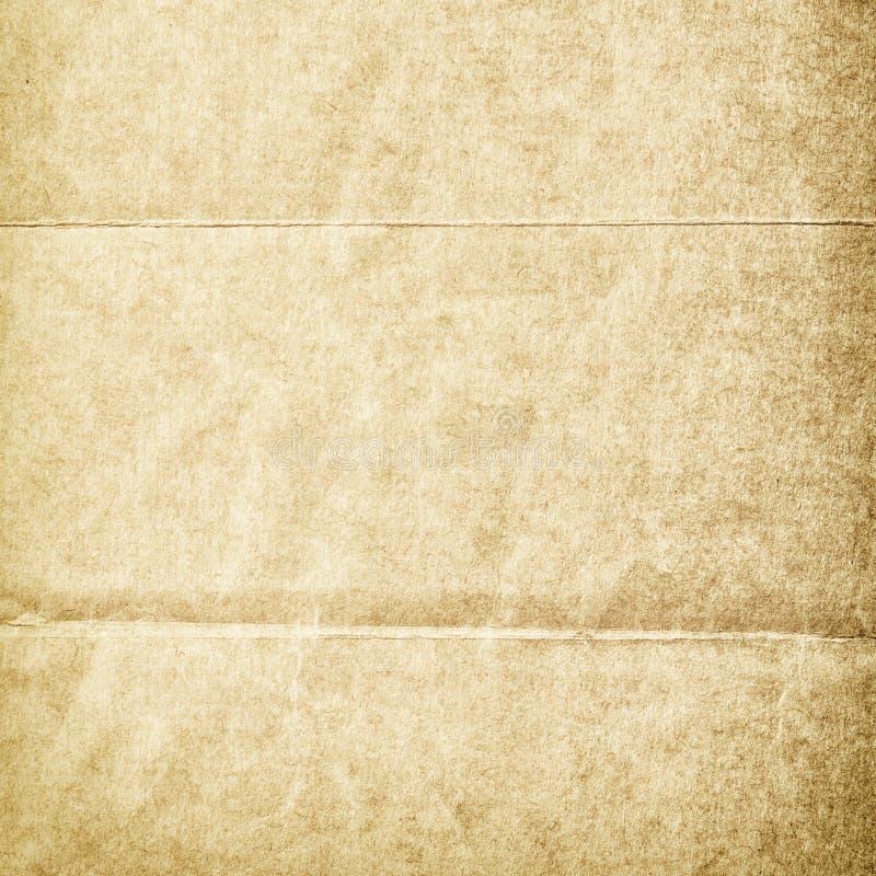 Vikt grungy nedfläckadt gammalt papper royaltyfri foto