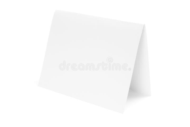 vikt half papper arkivbild