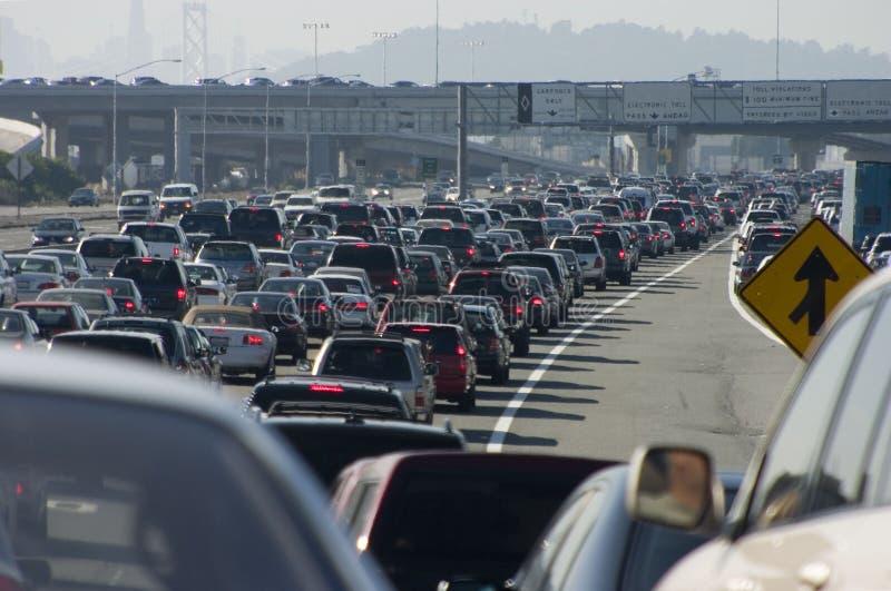 viktig trafik för 2 driftstopp royaltyfria foton