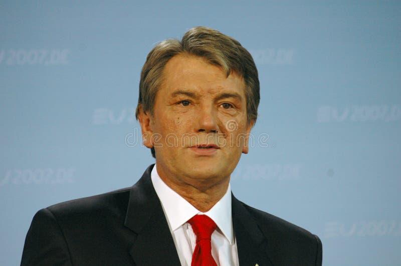 Viktor Juschtschenko stock foto's