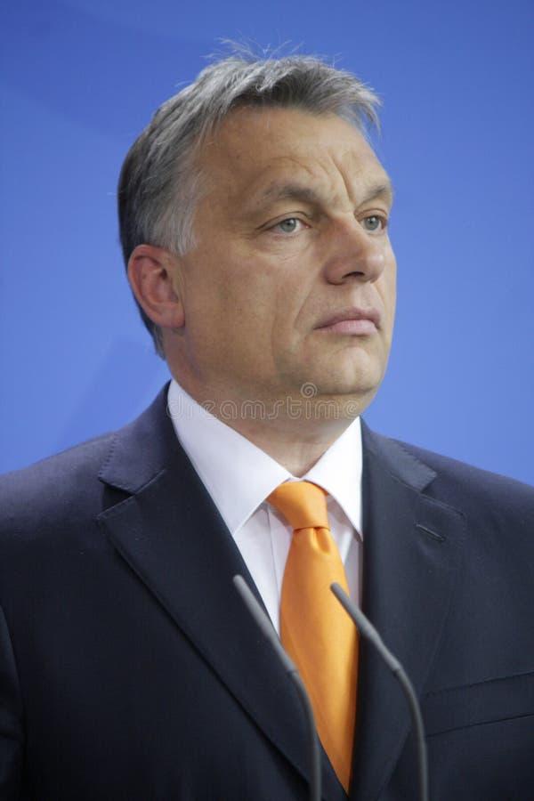 Viktor Orban immagine stock libera da diritti