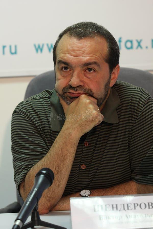 Viktor Shenderovich fotografia stock