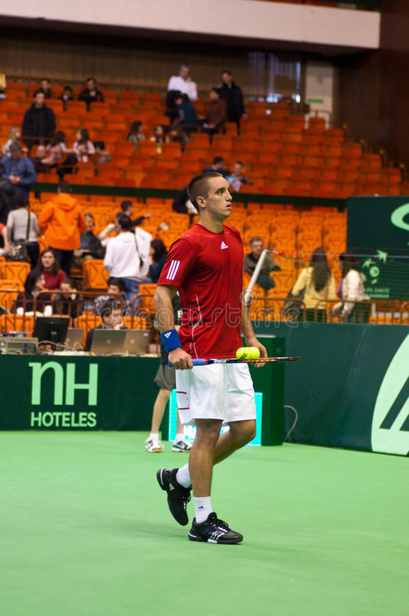 Viktor Troicki Editorial Stock Image