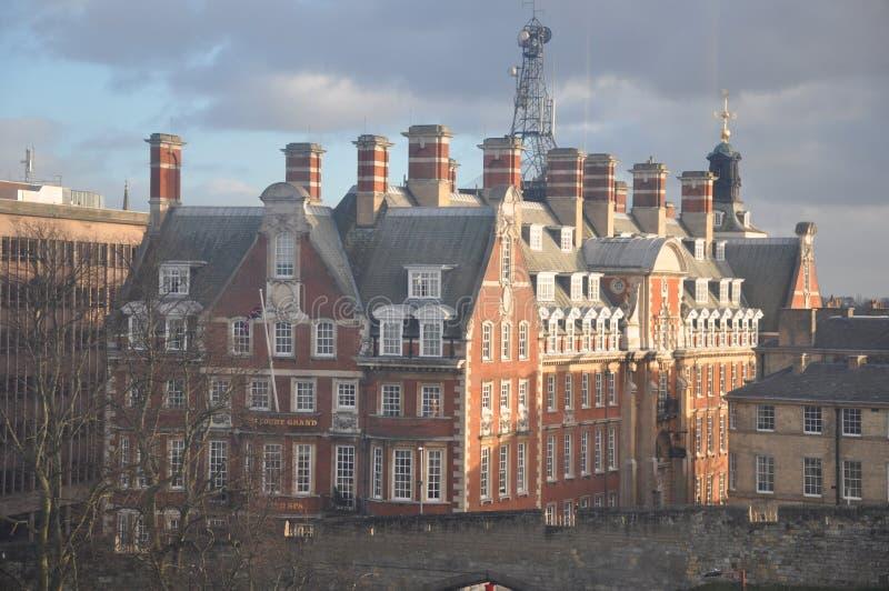 Viktorianische alte Fabrik Großbritannien lizenzfreies stockbild