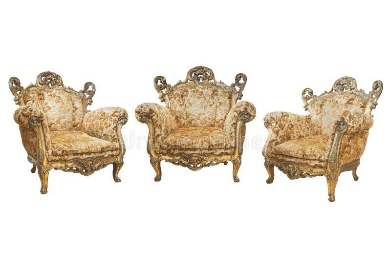 Viktorianische Stühle lizenzfreies stockbild