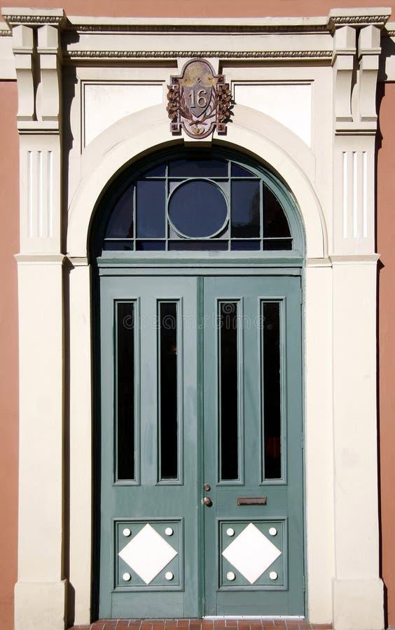 Viktorianische Tür stockbilder