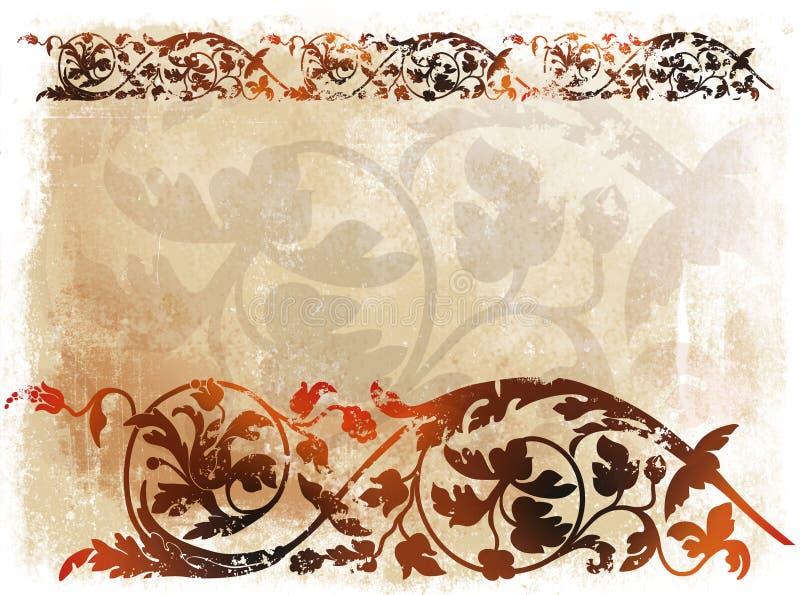 Viktorianischer Hintergrund 1 lizenzfreie abbildung